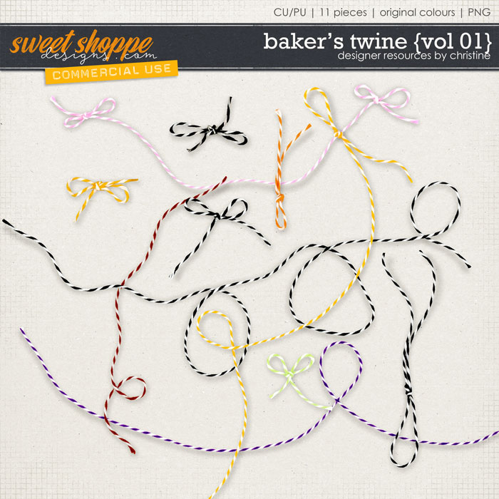 Baker's Twine {Vol 01} by Christine Mortimer