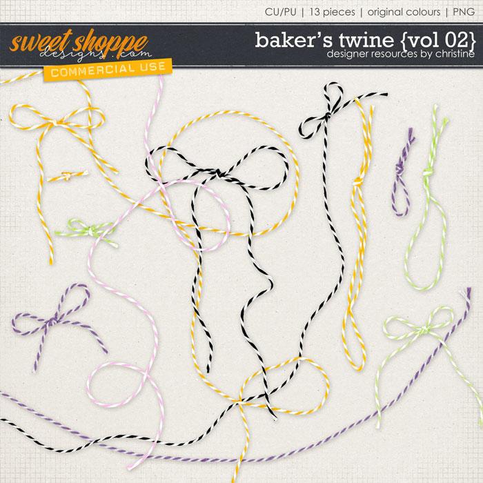 Baker's Twine {Vol 02} by Christine Mortimer