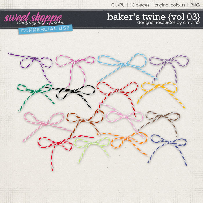 Baker's Twine {Vol 03} by Christine Mortimer
