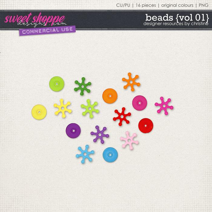 Beads {Vol 01} by Christine Mortimer