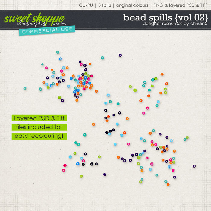 Bead Spills {Vol 02} by Christine Mortimer