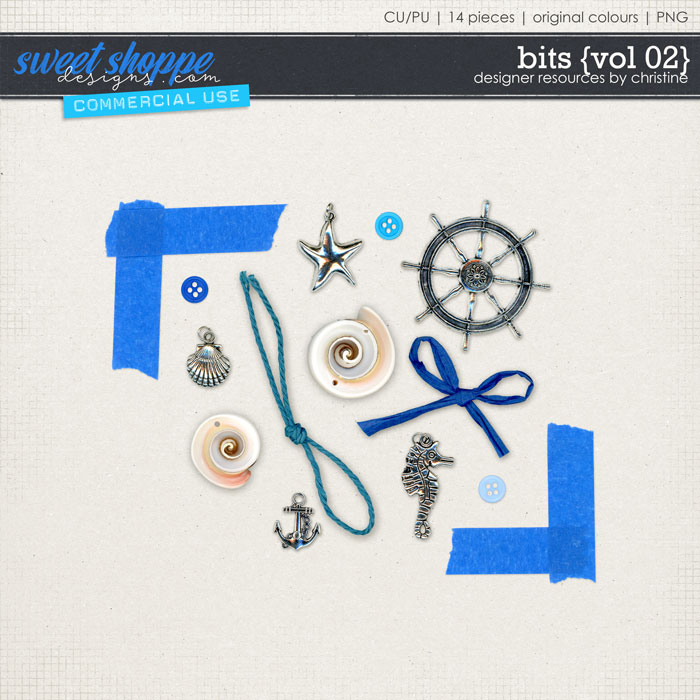 Bits {Vol 02} by Christine Mortimer