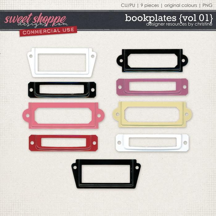 Bookplates {Vol 01} by Christine Mortimer