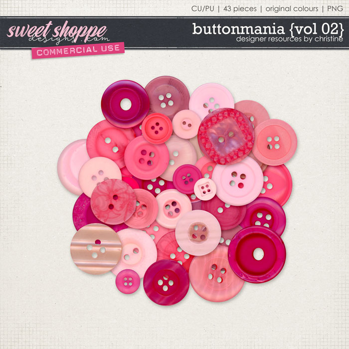Buttonmania {Vol 02} by Christine Mortimer