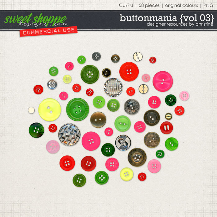 Buttonmania {Vol 03} by Christine Mortimer