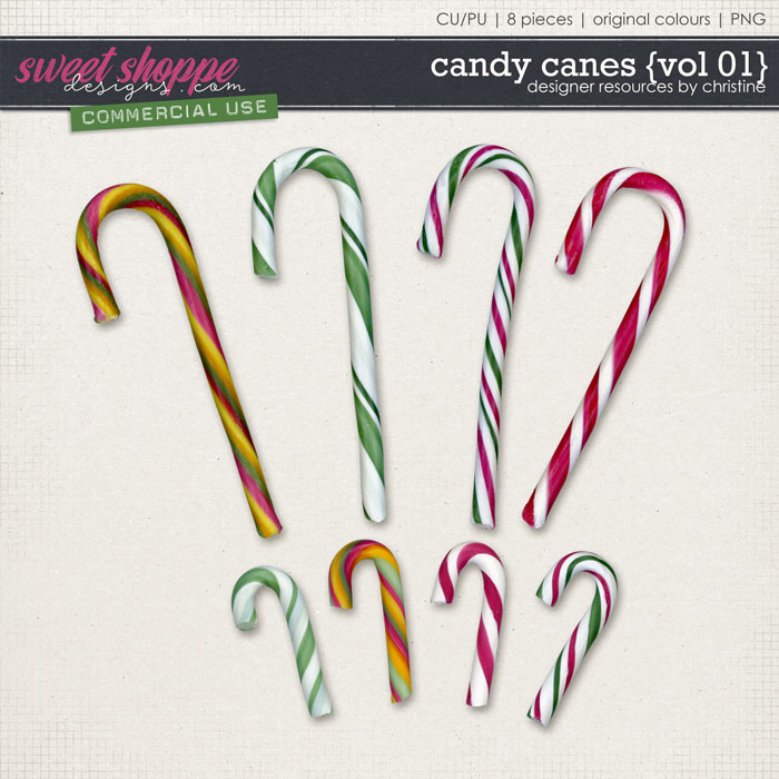 Candy Canes {Vol 01} by Christine Mortimer