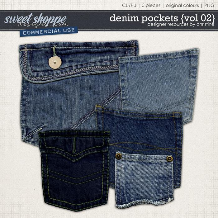 Denim Pockets {Vol 02} by Christine Mortimer