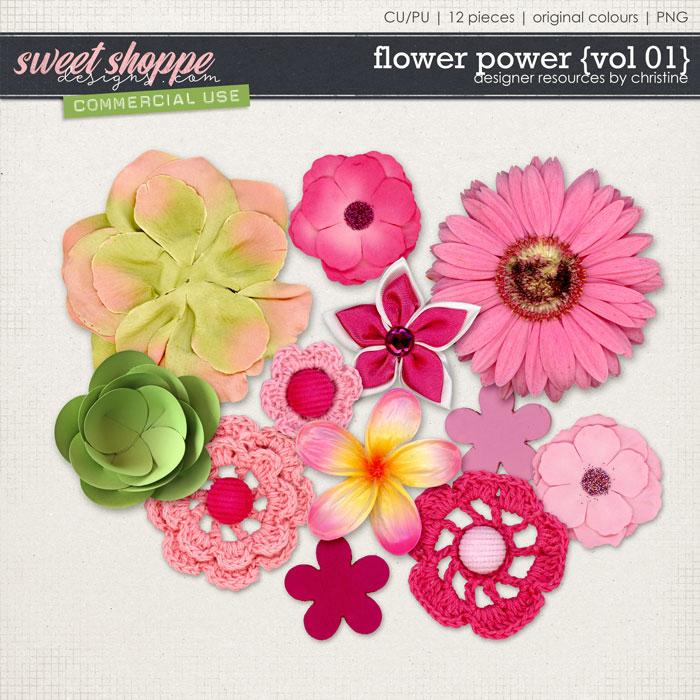 Flower Power {Vol 01} by Christine Mortimer