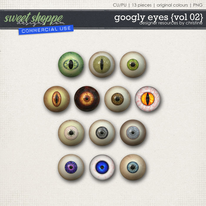Googly Eyes {Vol 02} by Christine Mortimer
