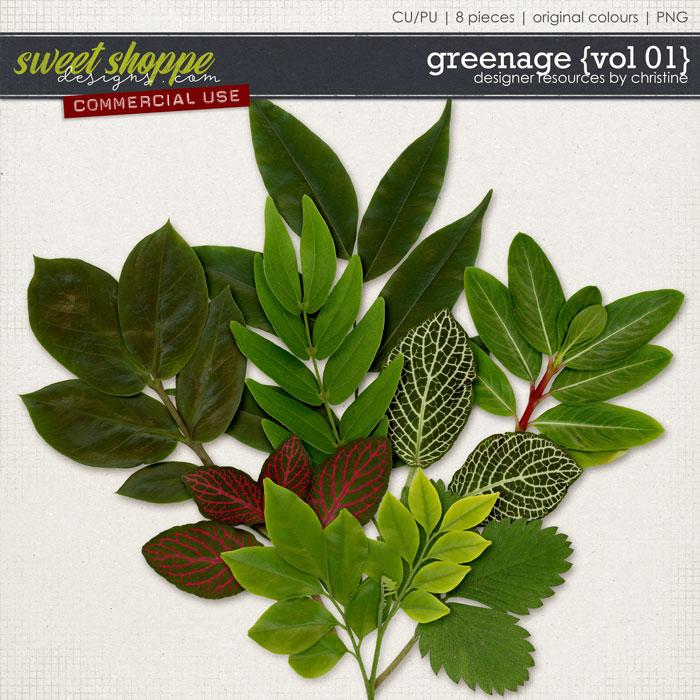Greenage {Vol 01} by Christine Mortimer