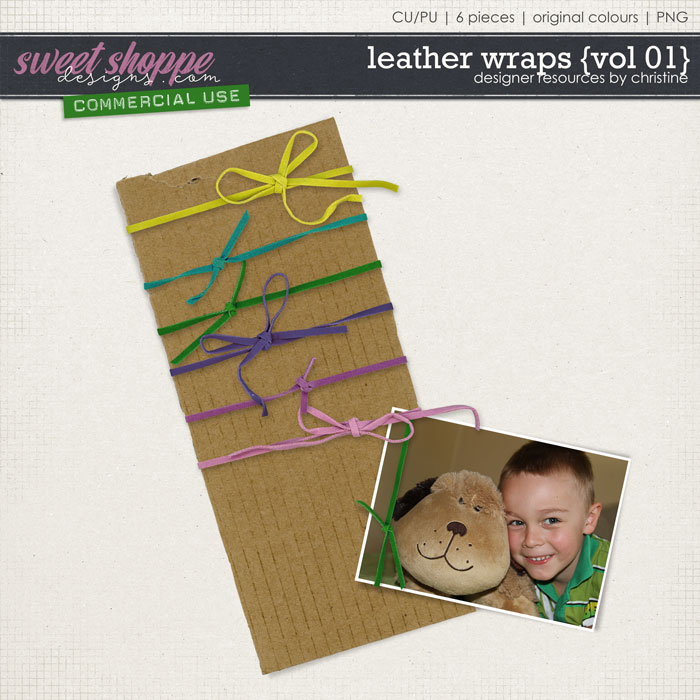 Leather Wraps {Vol 01} by Christine Mortimer