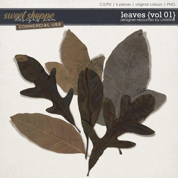Leaves {Vol 01} by Christine Mortimer