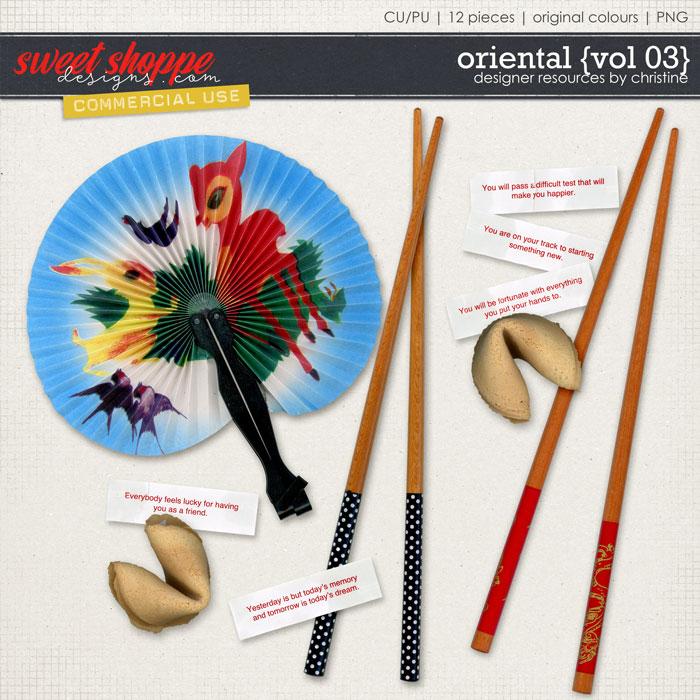 Oriental {Vol 03} by Christine Mortimer