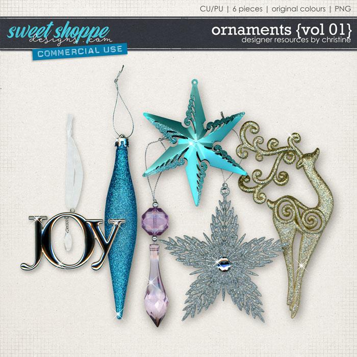 Ornaments {Vol 01} by Christine Mortimer