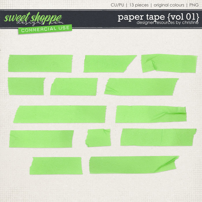 Paper Tape {Vol 01} by Christine Mortimer