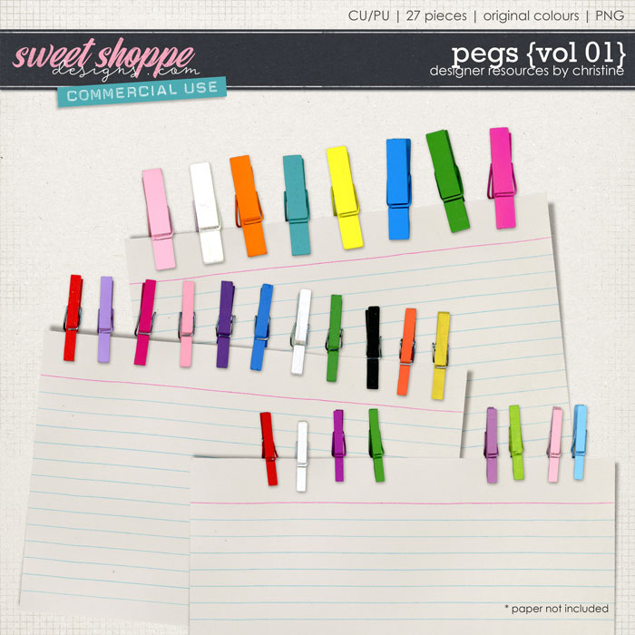 Pegs {Vol 01} by Christine Mortimer