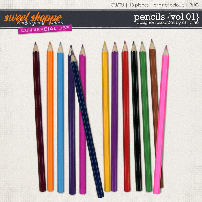 Pencils {Vol 01} by Christine Mortimer