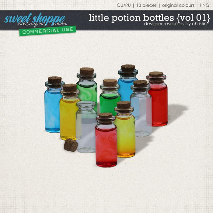 Potion Bottles {Vol 01} by Christine Mortimer