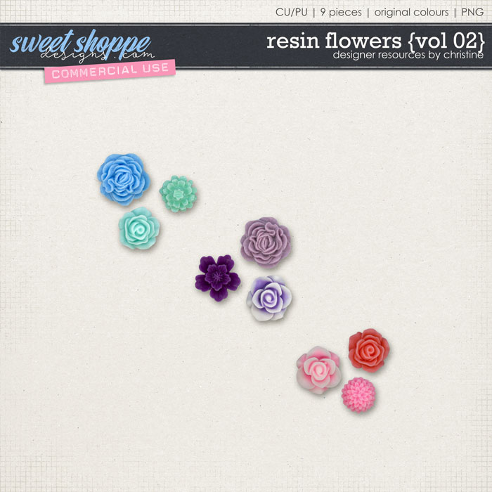 Resin Flowers {Vol 02} by Christine Mortimer