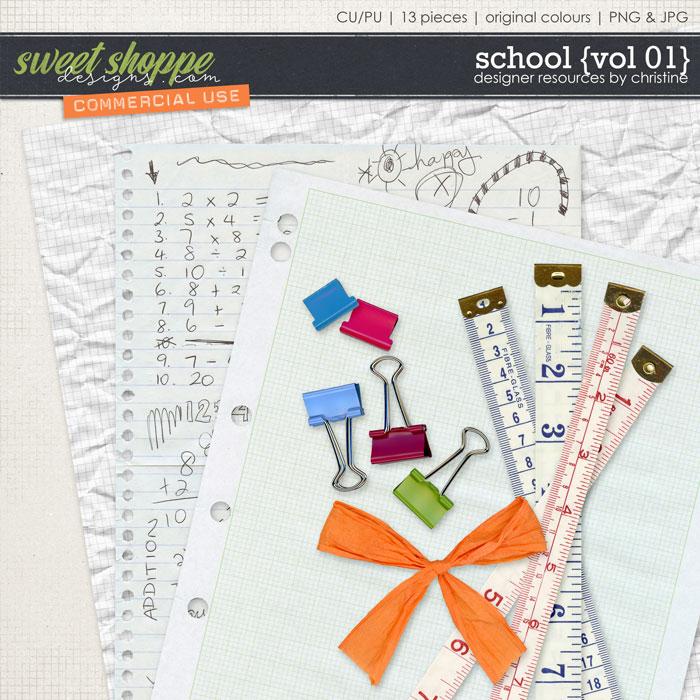 School {Vol 01} by Christine Mortimer