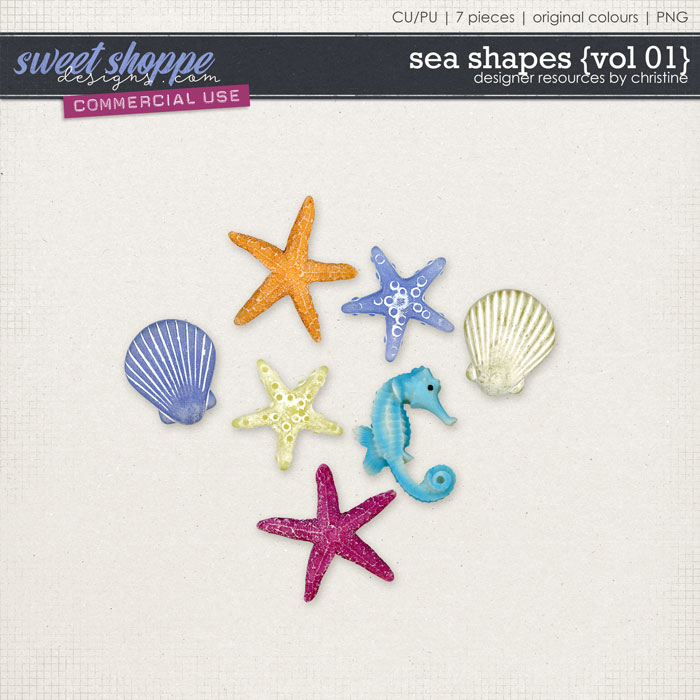 Sea Shapes {Vol 01} by Christine Mortimer