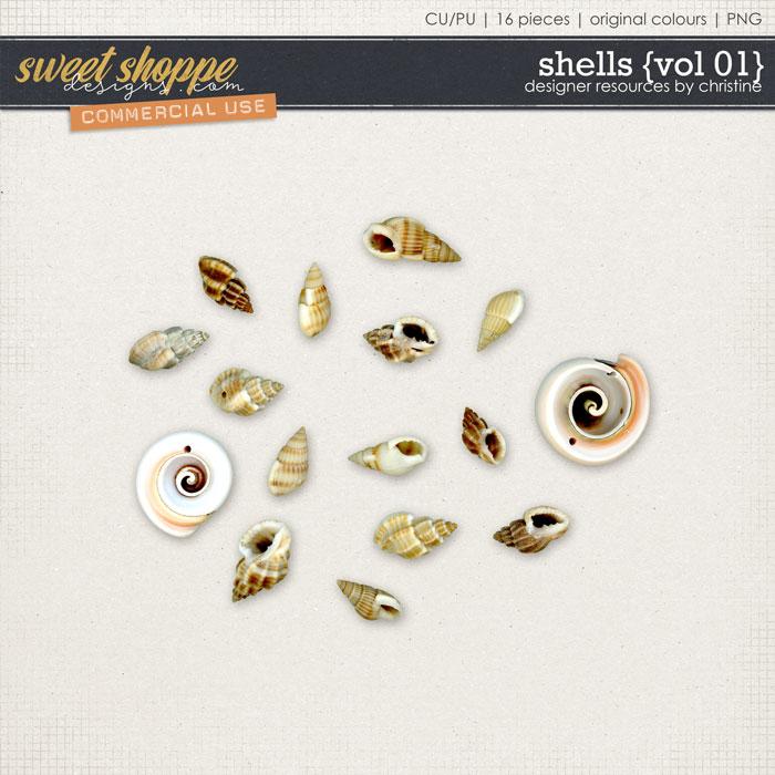 Shells {Vol 01} by Christine Mortimer