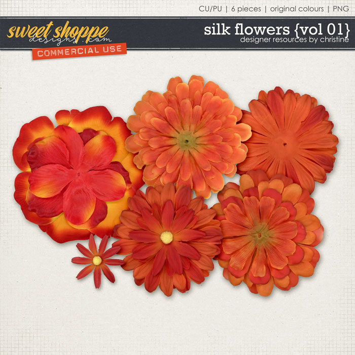Silk Flowers {Vol 01} by Christine Mortimer