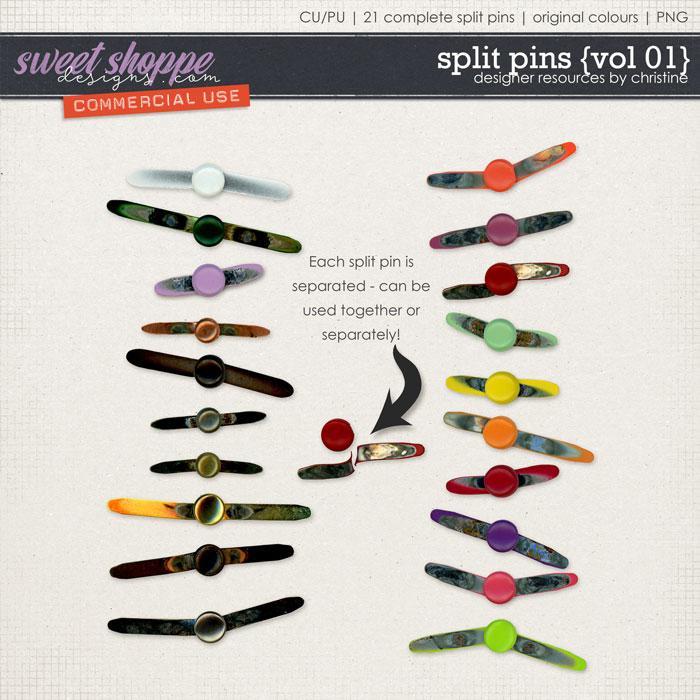 Split Pins {Vol 01} by Christine Mortimer
