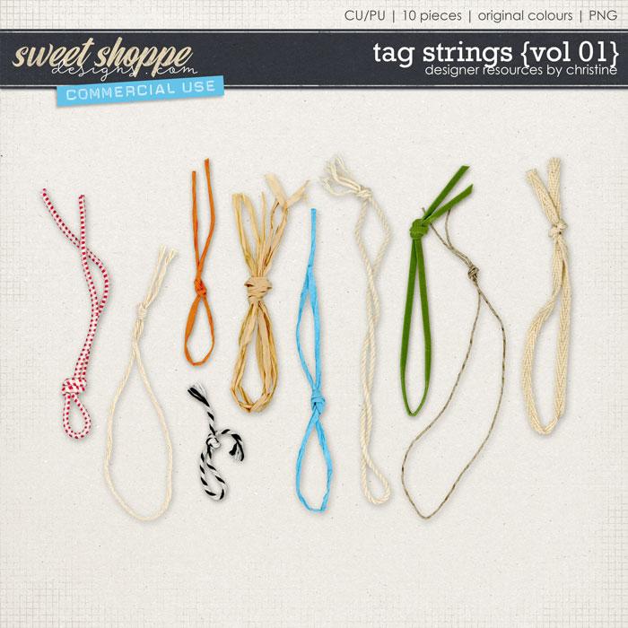 Tag Strings {Vol 01} by Christine Mortimer