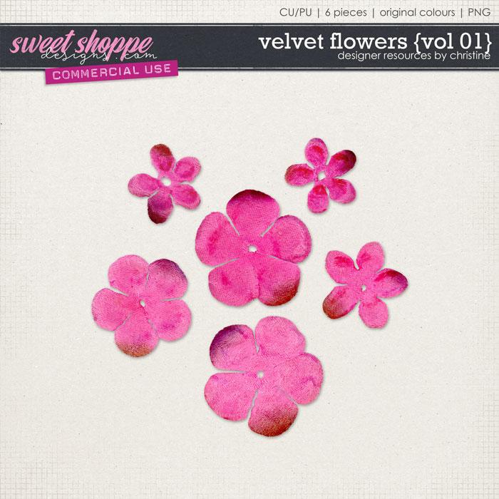 Velvet Flowers {Vol 01} by Christine Mortimer
