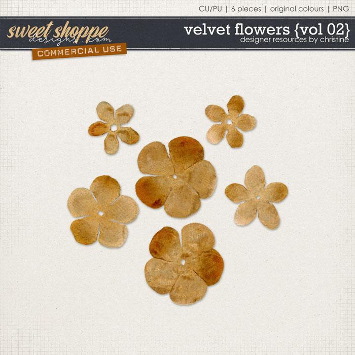 Velvet Flowers {Vol 02} by Christine Mortimer