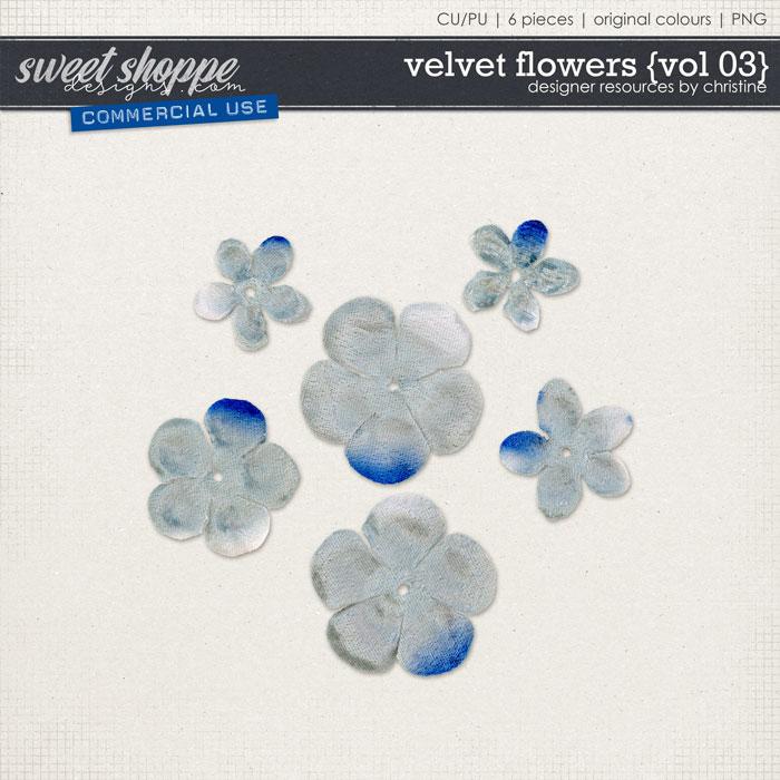 Velvet Flowers {Vol 03} by Christine Mortimer