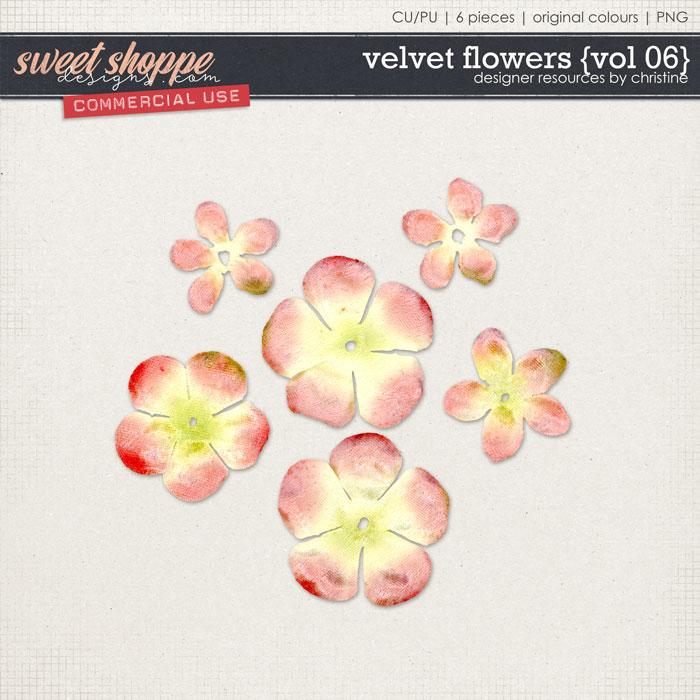 Velvet Flowers {Vol 06} by Christine Mortimer