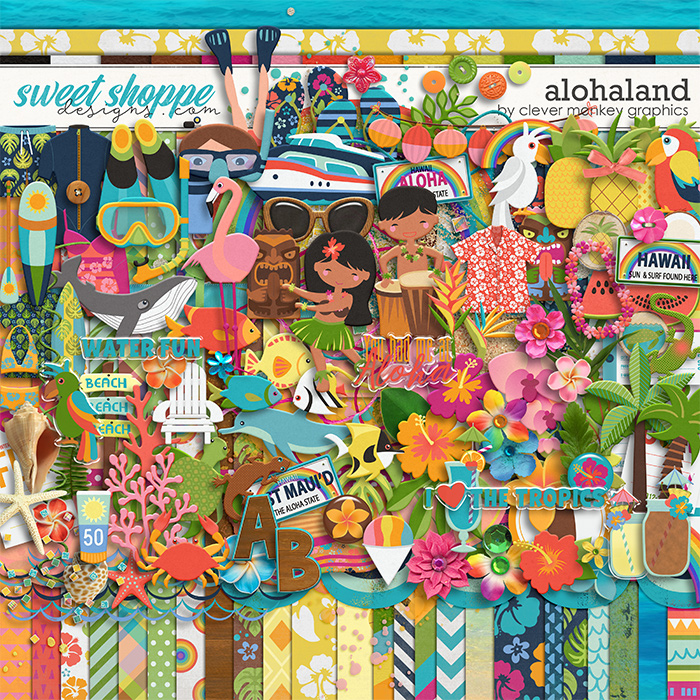 Alohaland by Clever Monkey Graphics