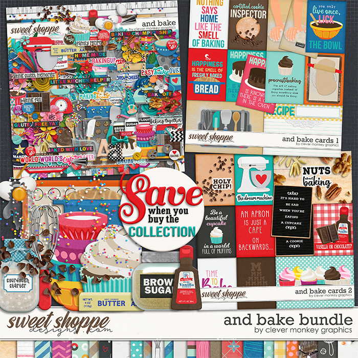 And Bake Bundle by Clever Monkey Graphics