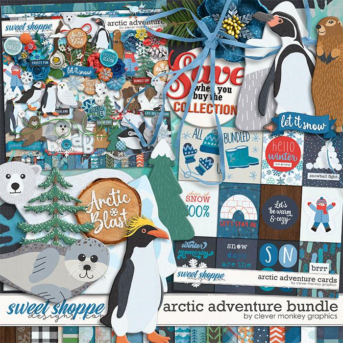 Arctic Adventure Bundle by Clever Monkey Graphics