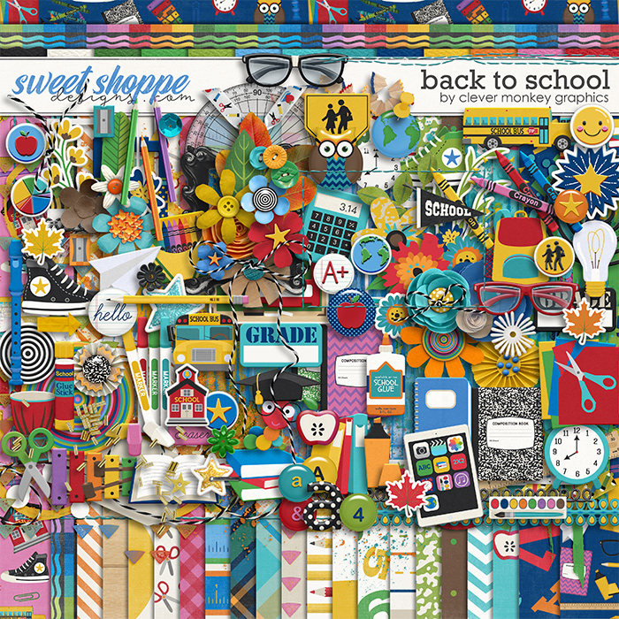Back to School by Clever Monkey Graphics