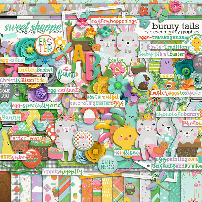 Bunny Tails by Clever Monkey Graphics