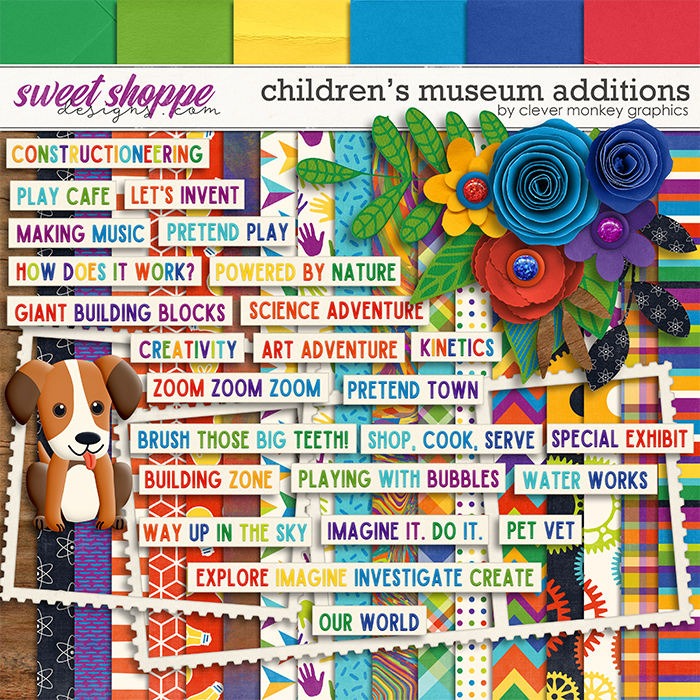 Children's Museum ADDITIONS by Clever Monkey Graphics