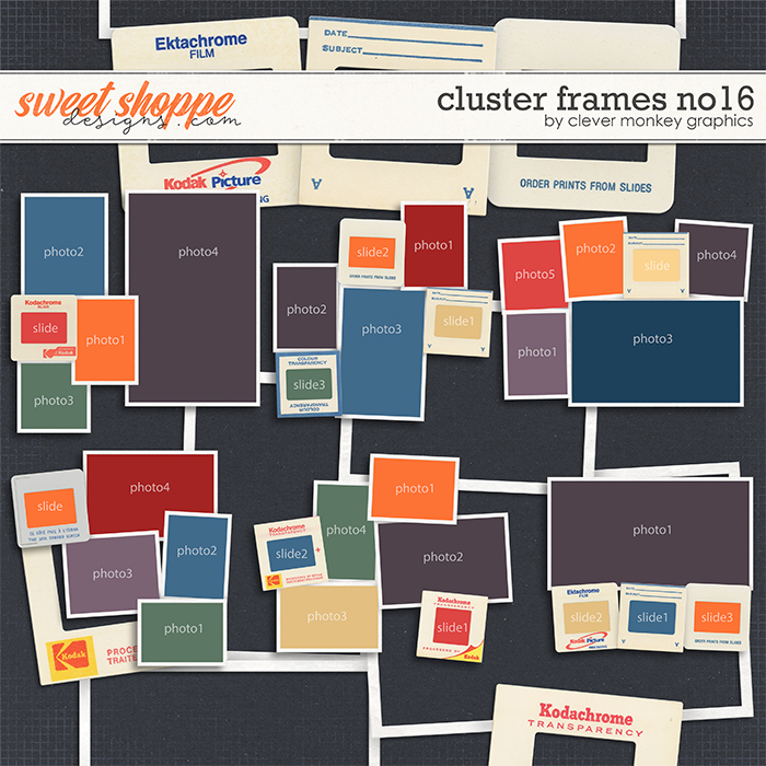 Cluster Frames No16 by Clever Monkey Graphics