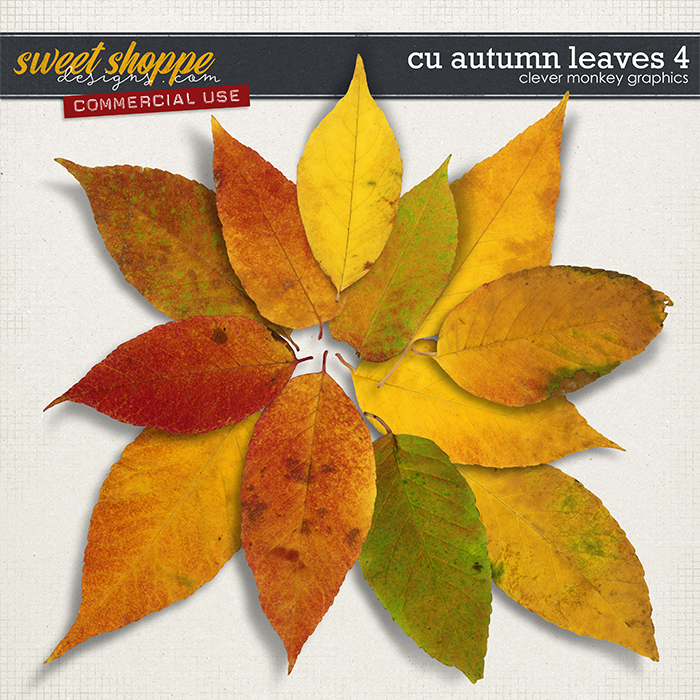 CU Autumn Leaves 4 by Clever Monkey Graphics