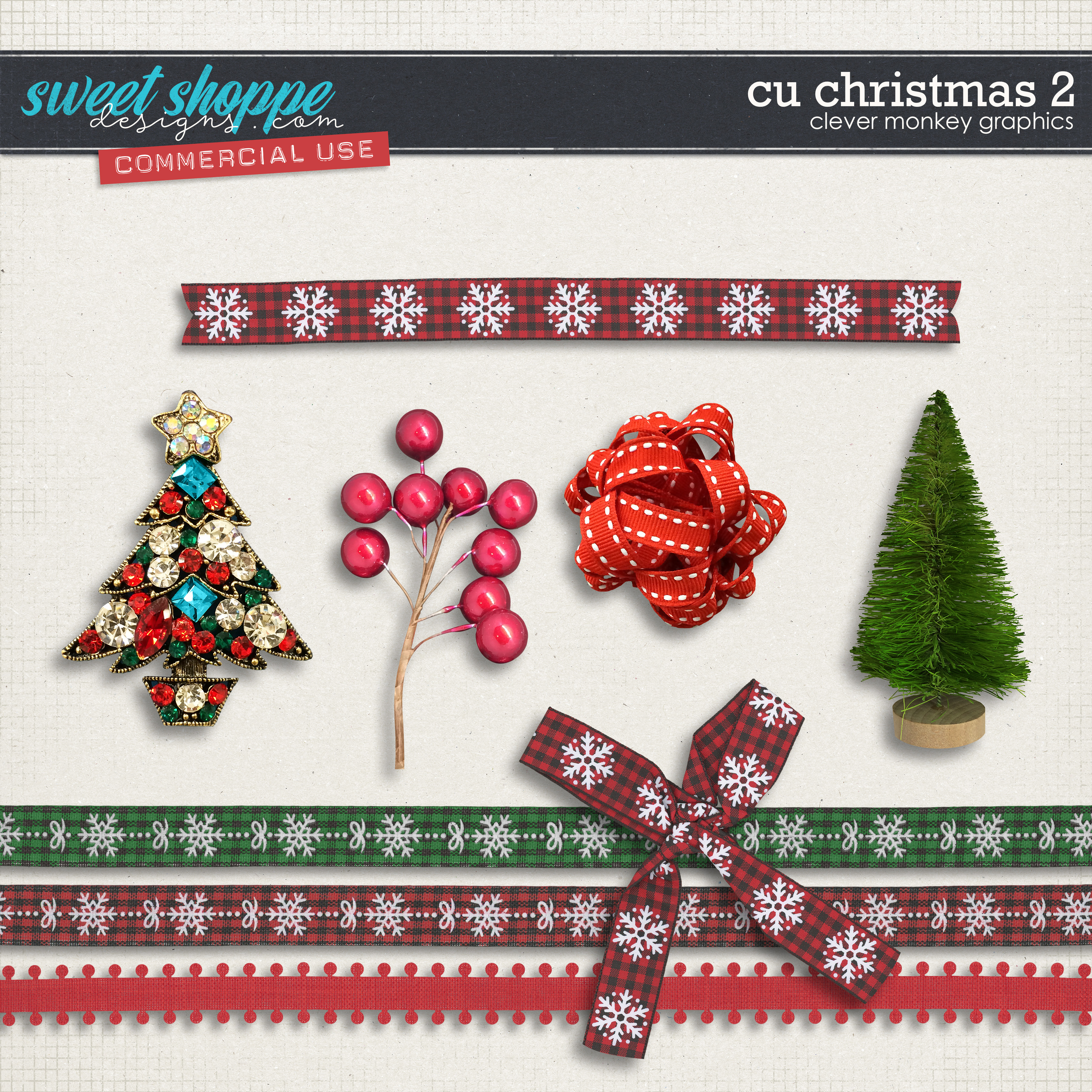CU Christmas 2 by Clever Monkey Graphics