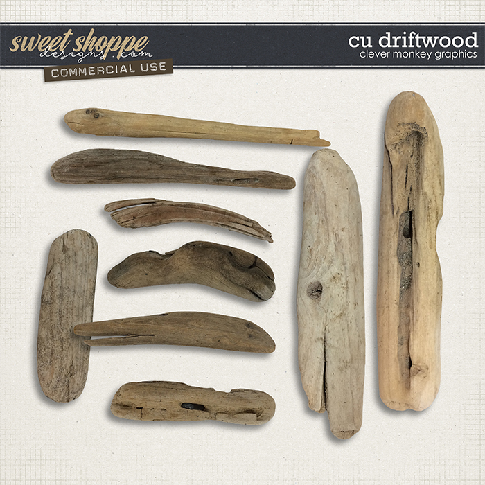 CU Driftwood by Clever Monkey Graphics
