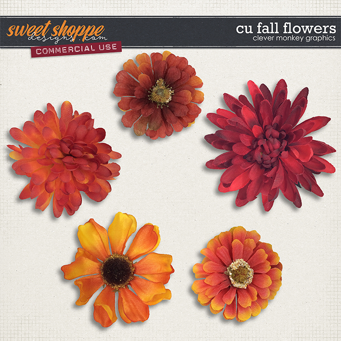CU Fall Flowers by Clever Monkey Graphics
