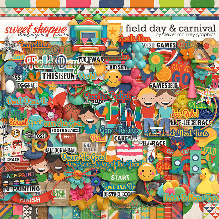 Field Day & Carnival by Clever Monkey Graphics