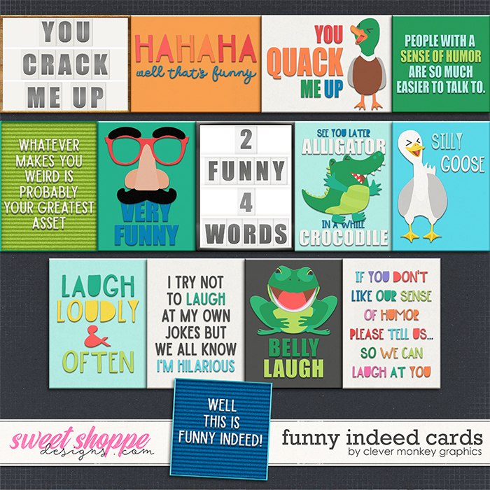 Funny Indeed Cards by Clever Monkey Graphics