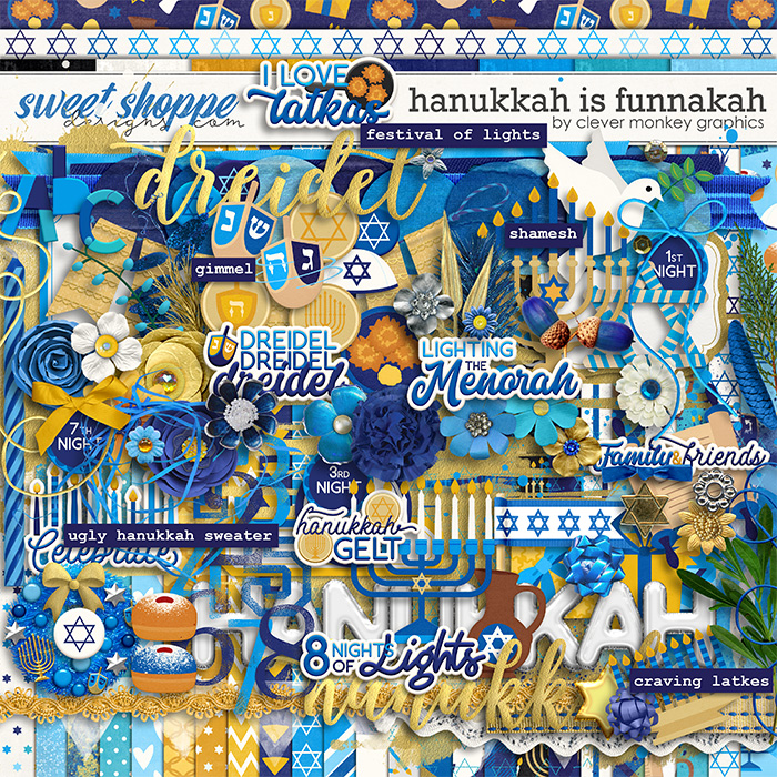 Hanukkah is Funnakah by Clever Monkey Graphics