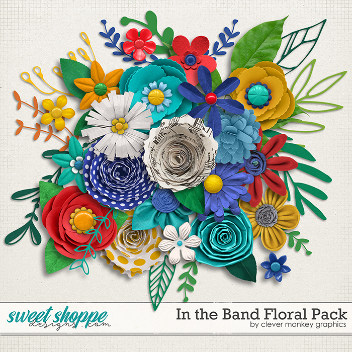 In the Band Floral Pack by Clever Monkey Graphics