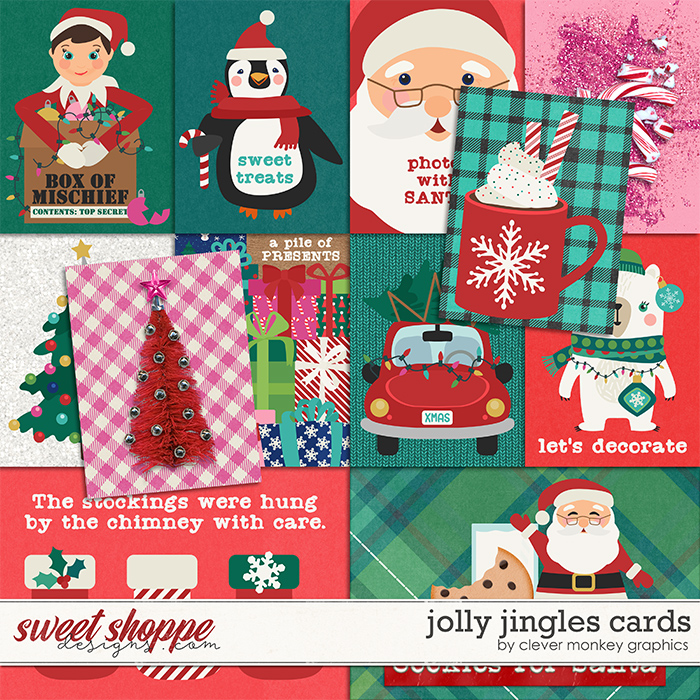 Jolly Jingles Cards by Clever Monkey Graphics
