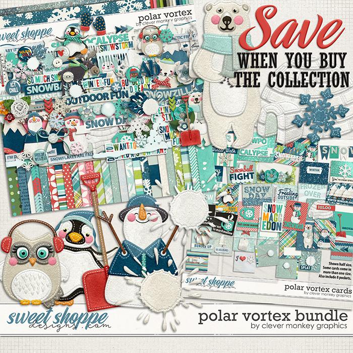 Polar Vortex Bundle by Clever Monkey Graphics